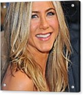Jennifer Aniston At Arrivals For Just Acrylic Print by Everett