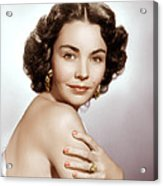 Jennifer Jones, Ca. Early 1950s Acrylic Print by Everett