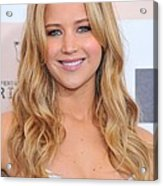 Jennifer Lawrence At Arrivals For 2011 Acrylic Print