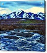 Jenny Creek Dawn Acrylic Print