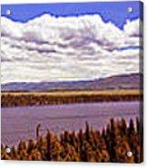 Jenny Lake Panorama Acrylic Print