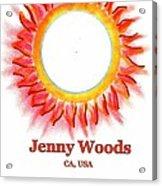 Jenny Woods Acrylic Print