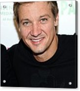 Jeremy Renner At Arrivals For 2009 Acrylic Print