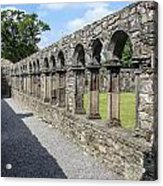 Jerpoint Abbey Arches Acrylic Print