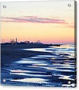 Jersey Shore Sunrise Acrylic Print