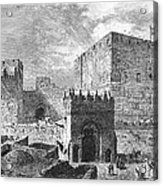 Jerusalem: Citadel Acrylic Print