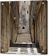 Jerusalem Steps Acrylic Print