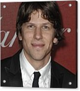 Jesse Eisenberg At Arrivals For 22nd Acrylic Print