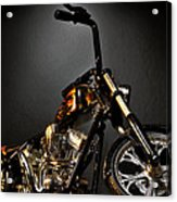 Jesse James Bike 2 Detroit Mi Acrylic Print
