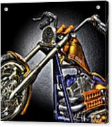 Jesse James Bike Detroit Mi Acrylic Print