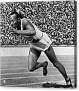 Jesse Owens (1913-1980) Acrylic Print by Granger