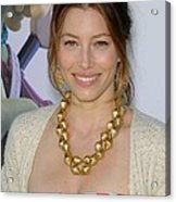 Jessica Biel At Arrivals For Planet 51 Acrylic Print