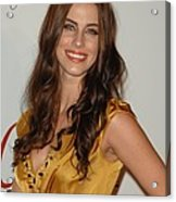 Jessica Lowndes At Arrivals For The Acrylic Print by Everett