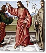 Jesus & Thomas Acrylic Print