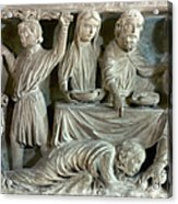 Jesus And Mary Magdalene Acrylic Print