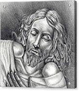 Jesus At Rest Acrylic Print