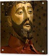 Jesus Christ San Xavier Del Bac Acrylic Print