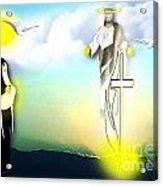 Jesus Journey Acrylic Print