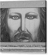 Jesus On The Street Acrylic Print