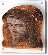 Jesus Toast Acrylic Print by Photo Researchers, Inc.
