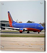 Jet Chicago Airplanes 11 Acrylic Print