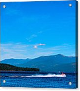 Jet Ski On Priest Lake Acrylic Print