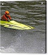 Jetboat In A Race At Grants Pass Boatnik Acrylic Print