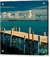 Jetty To Stocking Island Acrylic Print