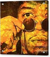 Jimi Acrylic Print by Ankeeta Bansal