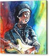 Jimi Hendrix 02 Acrylic Print