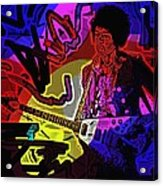 Jimi Hendrix Number 22 Acrylic Print