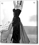 Joan Crawford, 1955 Acrylic Print by Everett