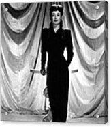 Joan Crawford, Ca. 1940s Acrylic Print by Everett