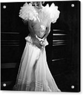 Joan Crawford, Mgm Portrait By Hurrell Acrylic Print by Everett
