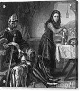 Joan Of Arc, French National Heroine Acrylic Print