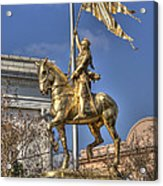 Joan Of Arc Statue New Orleans Acrylic Print