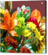 Joannes Flowers Acrylic Print