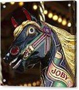 Joby The Carousel Horse Acrylic Print