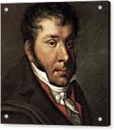Johann Hummel (1778-1837) Acrylic Print by Granger