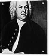 Johann Sebastian Bach 1685-1750, German Acrylic Print