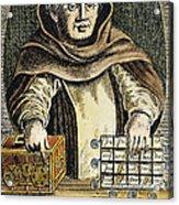 Johann Tetzel (c1465-1519) Acrylic Print