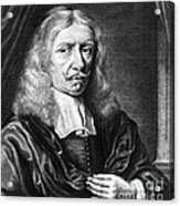 Johannes Hevelius, Polish Astronomer Acrylic Print by Science Source