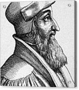 Johannes Oecolampadius Acrylic Print