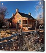 John And Ellen Wood Home Acrylic Print