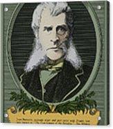 John Bigelow, American Diplomat Acrylic Print