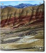 John Day Painted Hills Acrylic Print