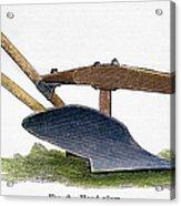 John Deere Plow Acrylic Print