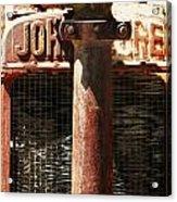 John Deere Radiator  Acrylic Print