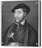 John Dudley (1502?-1553) Acrylic Print
