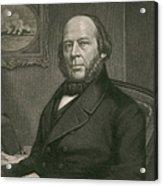 John Ericsson, Swedish-american Inventor Acrylic Print